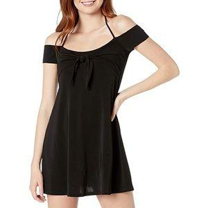 BCBGeneration Women's Black Halter Mini Dress sz S